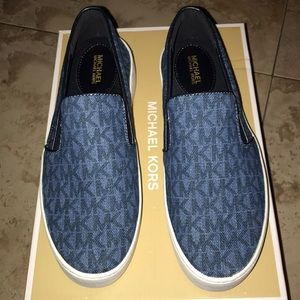 MICHEAL KORS Trent Slip-On Sneaker Blue